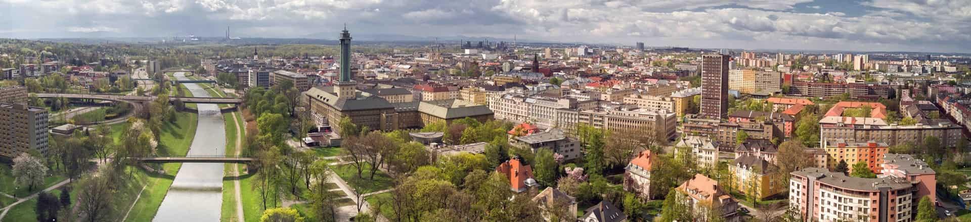 центр города острава